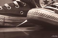 Purple Passion (aui_manila) Tags: home sepia nikon sneakers allstar chucks pilipinas d40 bootsandshoes achallengeforyou auimanila