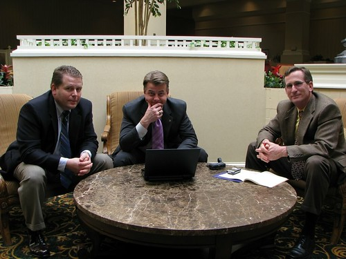 Warren Weeks, Michael Bolick, and Ken Morgan of Selah Technologies