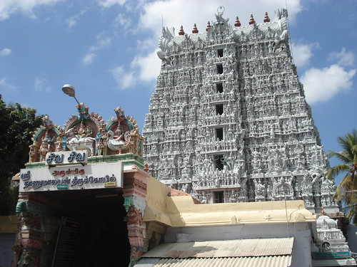 Suchindram Temple, Kanyakumari, Tamil Nadu, India