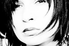 me (innees) Tags: bw art me girl face myself femme lips portatrait agnieszkazaleska agnieszkakrajewskazaleska