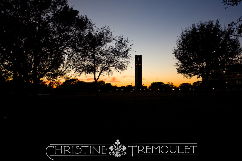 Sunset at Texas A&M