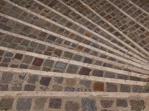 Sicilian stone steps