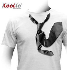 Koolto Norther. Tie  trompe l'oeil T-shirt. (Koolto.com) Tags: fashion shirt ties design cool moda style tshirt trend tshirts tee appareil tees trompe norther loeil magliette abbigliamento trompeloeil koolto