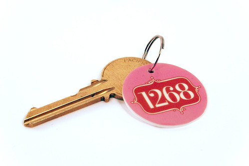 PO Box Key Chain