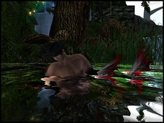 Merman (Kracht Strom) Tags: color reflection art water colors photography 3d screenshot colours magic sl fantasy secondlife capture untouched strom merman wl windlight straylight kracht seconlife slwindlight secondlifewindlight viritual krachtstrom viritualworld purewindlight