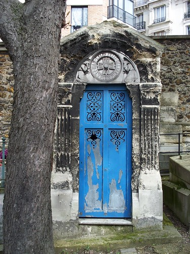 Bury Me Behind a Pretty Blue Door
