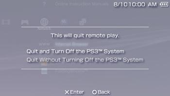 PSP Screen
