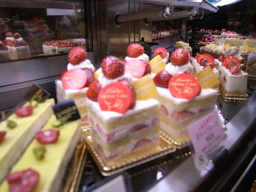 ケーキの群れ