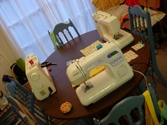 Sewing Party - Spring 2008 - Sewing Machines