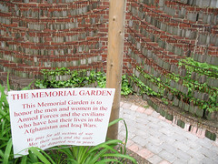 Afghanistan/Iraq Memorial Garden (2)