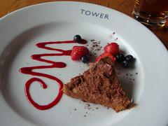 Chocolate Terrine at Edinburgh's The Tower Restaurant