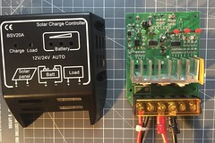 solar battery controller charger electronics