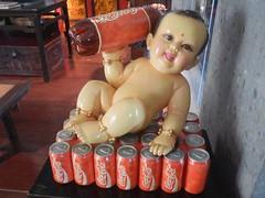 Bébé Coca (GeckoZen) Tags: bébé cocacola baigneur bali indonesia