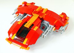 Red Fighter (WoogyChuck) Tags: lego spaceship