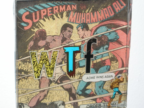 WTF #1: Superman vs. Muhammad Ali (Detail)