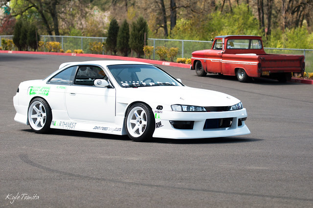 Primo's 2JZ S14 with trunk in back.JPG