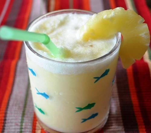 pina colado - Pine apple and coconut milk drink