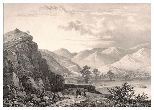 006a-Vista desde el camino a Viña del Mar en Chile2-Journal de la navigation autour du globe… 1837-Barón de Bouganville-fuente BOTANICUS