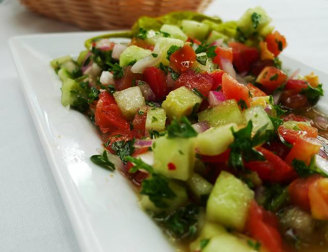 Shepherd salad.