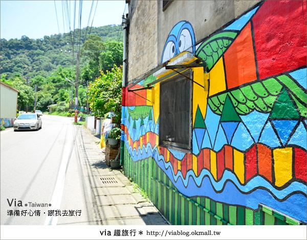 【彩繪客家村】驚豔,彩繪村!新竹竹東鎮軟橋社區尋彩趣16