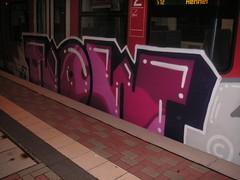 now (wallsdontlie) Tags: train graffiti panel now