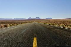 Classic American Road (mischiru) Tags: arizona usa utah desert navajo monumentvalley diamondclassphotographer classicamericanroad milemarker13