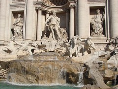 Trevi Fountain low