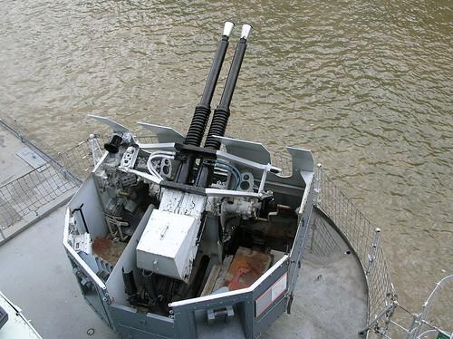 Bofors 40Mm Anti-Aircraft Gun