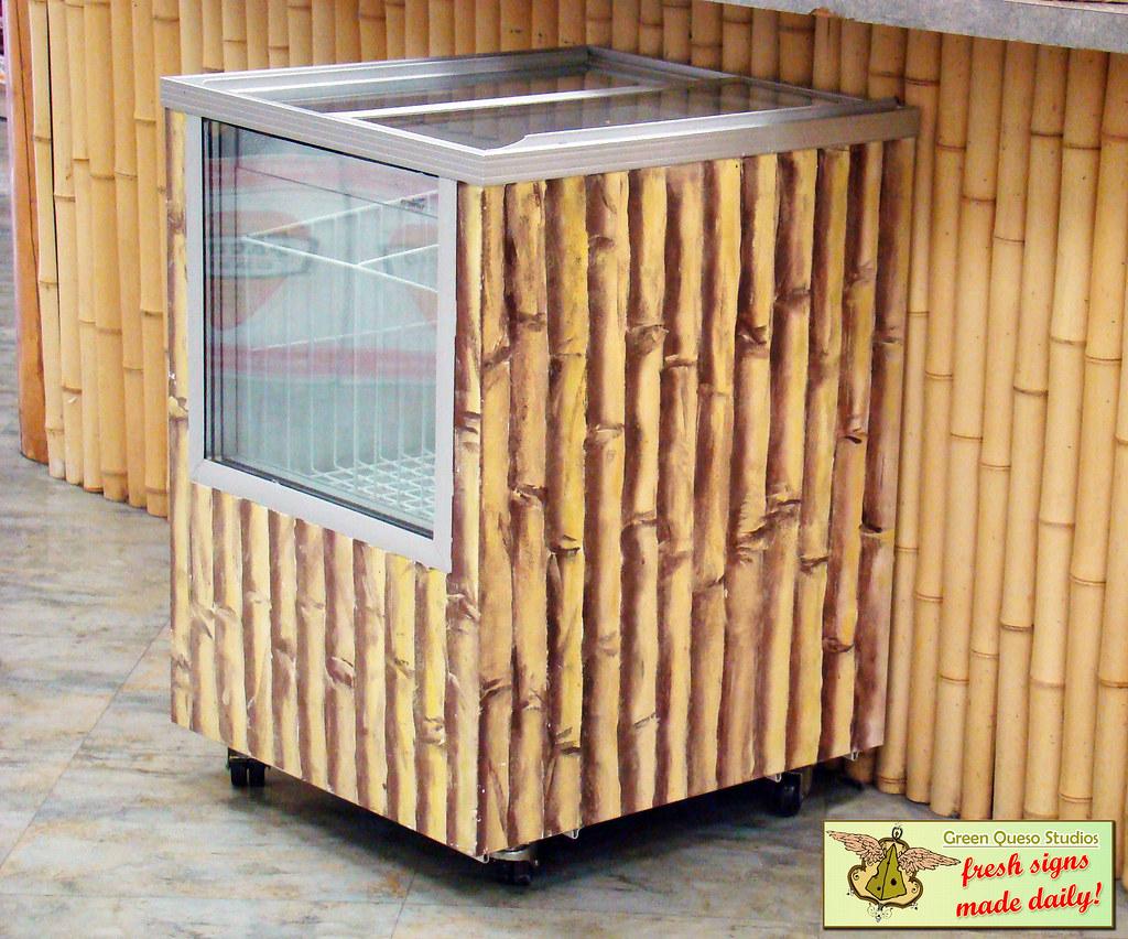 acrylic bamboo