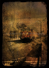 Indian Railways,   (designldg) Tags: travel india sepia train  indiasong krishlikesit hourofthediamondlight