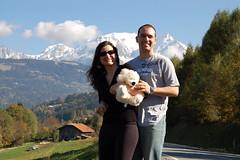 Mont Blanc ao fundo