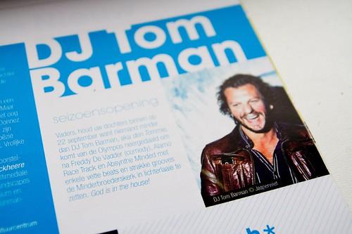 Tom Barman - verkeerde credits