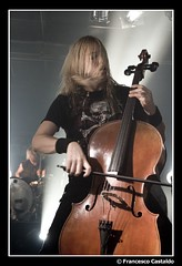 Eicca Toppinen - Apocalyptica ([devu]) Tags: music milan metal concert tour live milano cello progressive apocalyptica cellos progressivemetal eiccatoppinen lastfm:event=241146