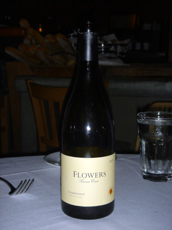 Flower chardonnay