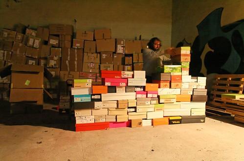 Essais en boites au hangar, Bordeaux, novembre 2007 - 97