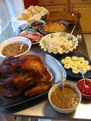 Thanksgiving's spread