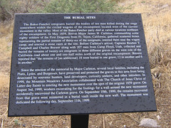 The Burial Sites (When lost in.....) Tags: utah mountainmeadowsmassacre