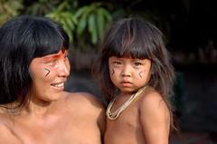 Xingu (MT) (+simples) Tags: amazon child xingu indians criana ndios kuikuro amazonindians