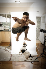 MarkGyver (Mark Lobo .) Tags: portrait dog photography jump mark koala lobo demonic winston marklobo wwwmarklobocomau