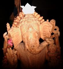 My own Ganesha, Caracas, Venezuela, 2007. (rahuldlucca) Tags: digital children ganesha ganesh hinduism canoneosrebelxt ringflash indiangod alienbees mahabarata dewali mahabaratha abr800 depawali puranas hinduepic obstacleremover top50ringlightportraits