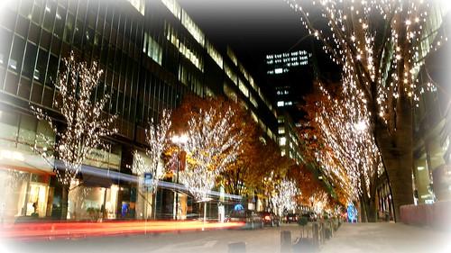 Marunouchi night, Tokyo
