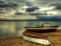 After storm... (Nejdet Duzen) Tags: sea cloud topf25 turkey boat topf50 topf75 trkiye deniz sandal breathtaking izmir bulut 35faves 25faves maviehir aplusphoto ultimateshot favemegroup4 75faves
