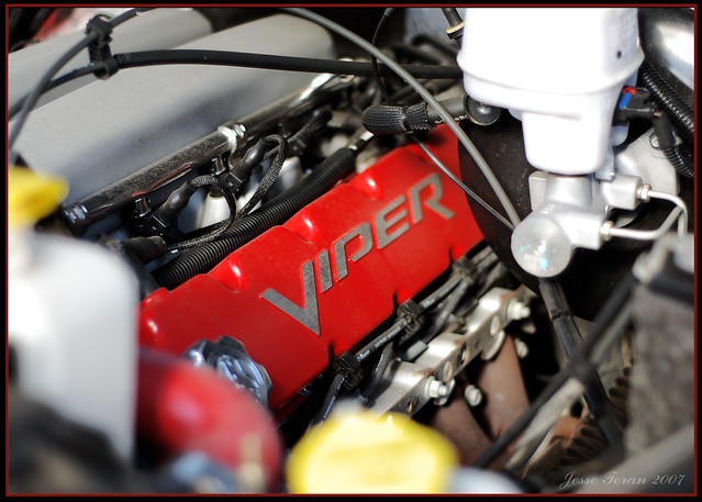 engine dodge mopar ram viper v10 venom srt10 valvecover mastercylinder