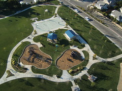 Thille Park (flyingcamera) Tags: california above park kite west flying wind aerial kites kap aerialphotography ventura kiteaerialphotography rokkaku