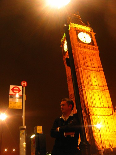 London, Me and Big Ben at Westminster 2