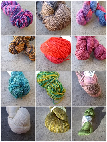 Ravelry sock yarn buys