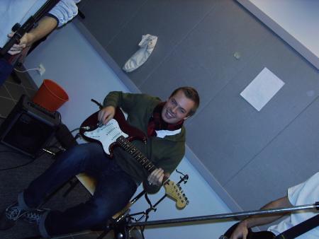 Bjarne y su guitarra