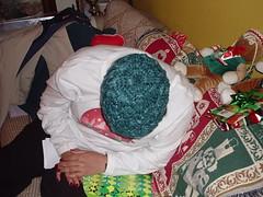 Lisa's Foliage (sallyvillarreal) Tags: christmas green hat knitting knit foliage fo knitty
