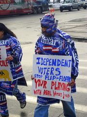 Not everyone likes independent voters