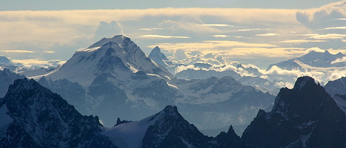 El Matterhorn vist des del Mont-Blanc / The Matterhorn seen from the Mont-Blanc